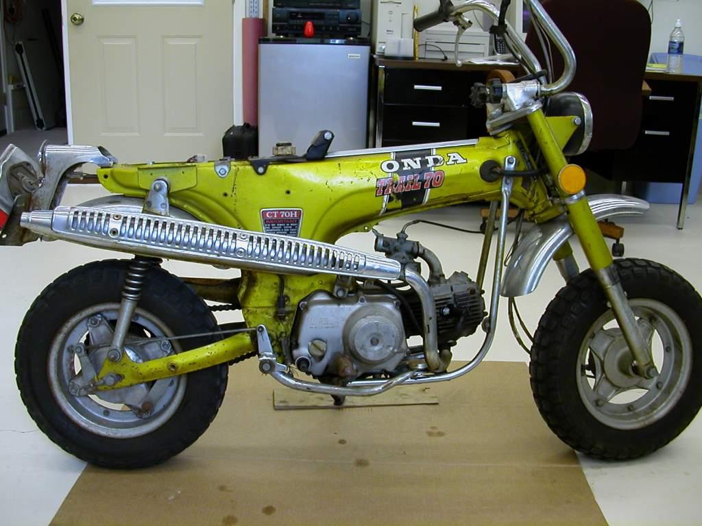 1972 Ct70hk1 1970 Honda Ct70 Paint Colors Before